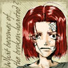 chomiji: The child Gojyo from Saiyuki, with the caption What becomes of the broken hearted? (Gojyo-chan - broken-hearted)