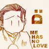 chomiji: Chibi of Saiyuki's Hazel with a sad face and the caption Me haz no love (Hazel - no love!)