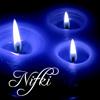 nifki: (blue candle)
