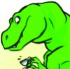 miniprof: Art by tigerhazard (teacup-rex)