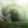 snickfic: Sam Dean at door to bunker (SD batcave)