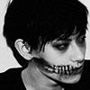 fukubu: (b&w skull)