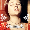 chimaerandi: Juliet leaning up against a post, saying fuck (Juliet)