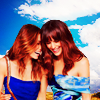 shopfront: Source: Jessica Biel and Jennifer Garner. Jessica and Jennifer leaning against each other and laughing. (RP [JG/JB] - have a happy femslashy day)