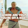 gloraelin: Old Spice's Isaiah: YOU'RE ON A BOAT (old spice)
