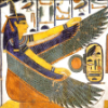 maat_seshat: Winged Maat sitting (Default)