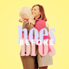 "goodbyebird: Parks and Recreation: Leslie and Ann hugging, ""hoes before bros"". (P&R sisters before misters)"