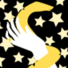 nu_ophiuchi: On a field of stars, a gold snake wraps around a hand (Default)
