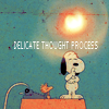 wendelah1: Snoopy is thinking (delicate thought process)