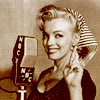 liabrepyh: marilyn monroe at a microphone (Default)
