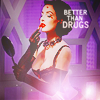 liabrepyh: dita von teese with makeup (better than drugs)