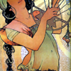 liabrepyh: alphonse mucha harp (harp)