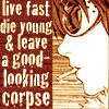 stripedtabby: (DN: Matt- Live Fast)