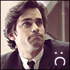 red_eft: Neal Caffrey from White Collar making a :C face (neal says :C)
