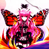 terabient: Ameto with butterfly wings (IIDX: Ameto Butterfly)