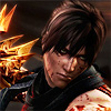 terabient: Ryu Hayabusa, fighting and splattered with blood (NG: Ryu blood)