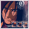 aquila_black: Orochimaru, charismatic smile; his snakelike features are almost handome in the warm light. Caption: Eternal Darkness. (Orochimaru: Eternal)