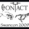 "samvara: Picture of two hands touching and text ""Contact Swancon 2009"" (Swancon2009)"