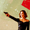 strina: mallorie cobb with a gun - textless (inc - mal/gun)