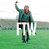 "kshandra: The closing shot of The Breakfast Club, of John Bender with his fist in the air; ""FTW"" is superimposed over his body. (FTW)"