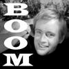 curuchamion: Illya Kuryakin grinning captioned BOOM! (Illya boom)
