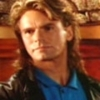 curuchamion: MacGyver in a blue shirt, fifth season hair (Mac blueshirt)