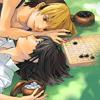effex: Gratuitous Hikaru/Akira icon (Gratuitous Hikaru/Akira icon)