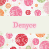 denyce: (stock: name Denyce pink)