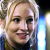 labellementeuse: close-up on the face of a blonde girl (Caroline) smiling towards the camera. (tvd help I'm alive (caroline))