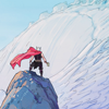 hammerhappy: (Mighty Thor master of this mountain!)