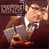 chronographia: a geeky Colin Meloy holding a clip board and looking enquiring (enquiring minds)