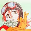jaxadorawho: Putting on gloves (Anime ☆ FLCL ~ Fiesty Haruhara)