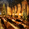 jaxadorawho: The Great Hall (Seasonal ☆ Christmas ~ Hogwarts)