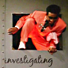 "pebblerocker: Red Dwarf's Cat climbs through a hatch; text ""Investigating"" (Investigating!)"