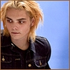 northern: Gerard's face. He's looking to the left, with blond hair. (gerard fey)