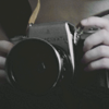 venusinthenight: a camera in a woman's hands (orphan black - cosima/delphine kiss)
