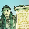 dagas_isa: A woman holding up a wanted poster (satisfaction guaranteed)