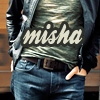 hsapiens: Misha in Leather, Chest & Hips UNF (Misha -- Leather Torso)