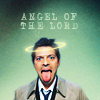 hsapiens: Bill!Castiel w/ Halo (Castiel -- Tongue & Halo Angel o'Lord)