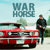 hsapiens: Dean Distracted by the Horseman's Ride (Dean -- War's Horse=Mustang)