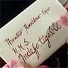 despatches: Hands holding a sealed letter, addressed H Hornblower, HMS Indefatigable (Default)