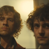pro_patria_mortuus: Enjolras and Grantaire, standing together, proudly staring into the camera (at a firing squad) (Orestes sober & Pylades drunk)