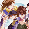 raletha: the five Gundam Wing pilots; Wufei is clipped off the edge (gundam wing - pilots)