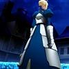 pendragon: (fz ♔ armor / back view upwards)