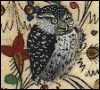 eredien: Owl Illustration from Medieval Manuscript (Owl)