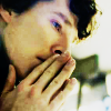 jenwryn: Sherlock with his fingers against his mouth. (sherlock • sherlock; almost a religion)