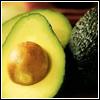 raletha: Close up of a cut avocado (food & drink - avocado)