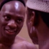 mona: oz's adebisi and said look meaningfully at each other naked. it's the end of the fucking universe. (adebisi/said)