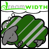 musyc: Dreamwidth sheep in Slytherin green/silver colors (Slytherin: Dreamsheep)