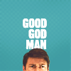 """ohtheclevernessofme: text icon: """"good god man"""" with karl urban as Dr. McCoy from Star Trek AOS from the eyes up (i'm a doctor not an escalator)"""